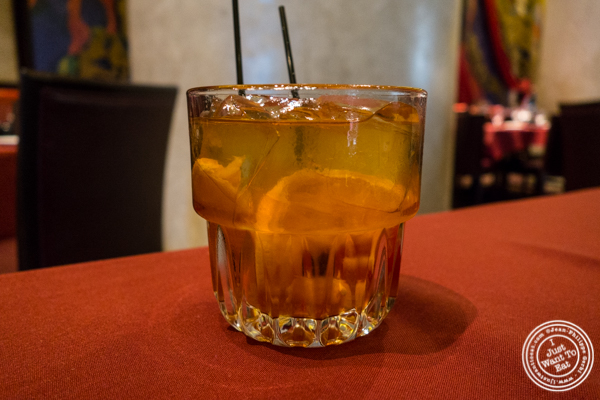 Old Fashioned at Del Frisco's Double Eagle Steakhouse in Philadelphia, PA