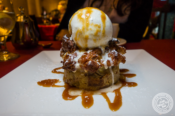 Banana bread pudding at Del Frisco's Double Eagle Steakhouse in Philadelphia, PA