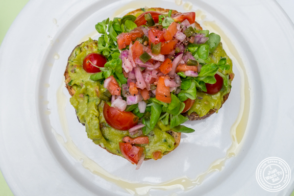 Avocado toast at The Hoboken Gourmet Company