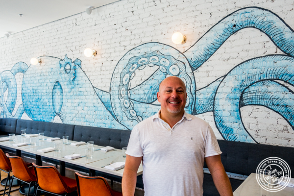 Chef Anthony Pino at Porter Collins in Hoboken, NJ