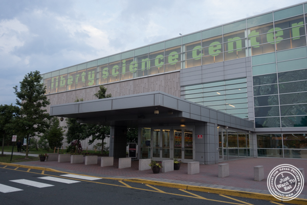 The Liberty Science Center in Jersey City, NJ