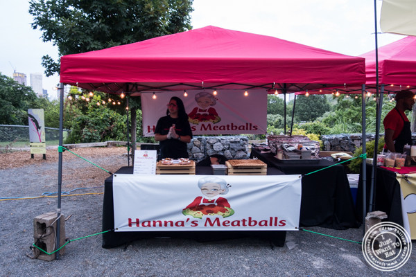 Hanna's Meatballs at The Liberty Science Center in Jersey City, NJ