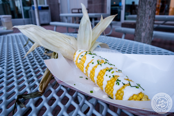 Corn on the cob from Whealth and Co