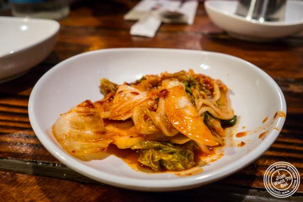 Kimchi at Sik Gaek in Woodside, Queens