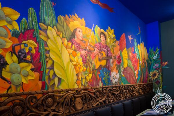 Wall painting at Charrito's Hoboken, NJ