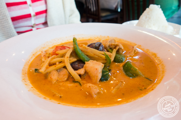 Chicken Massaman curry at Yum Yum Too in Hell's Kitchen