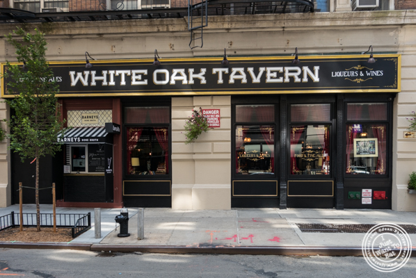 White Oak Tavern in Greenwich Village
