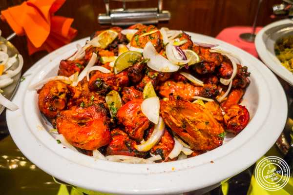 Tandoori chicken at Vaibhav in Jersey City