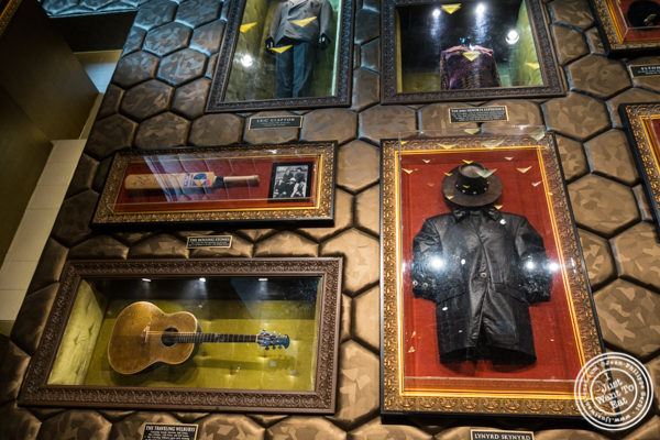 Decor at Hard Rock Cafe at the Cyber Hub in Gurgaon, India