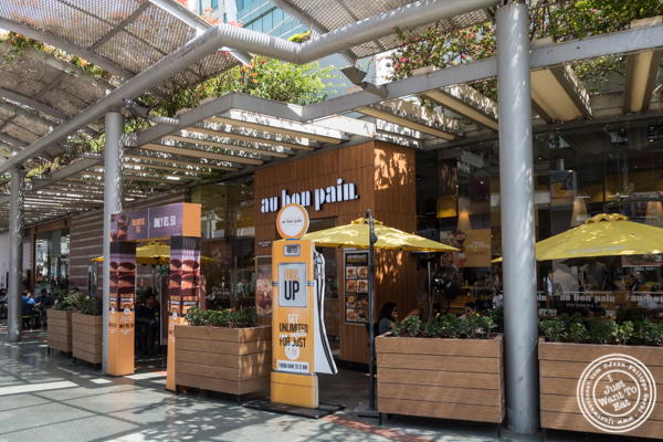 Au Bon Pain at the Cyber Hub in Gurgaon, India