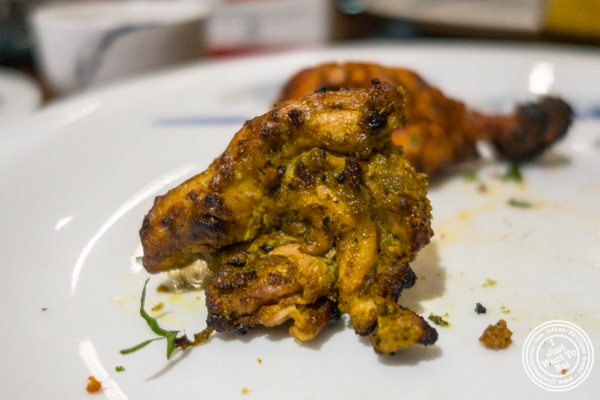 Hyderabadi Murgh Ki Parchey at The Great Kabab Factory in the Radisson Blu, Noida