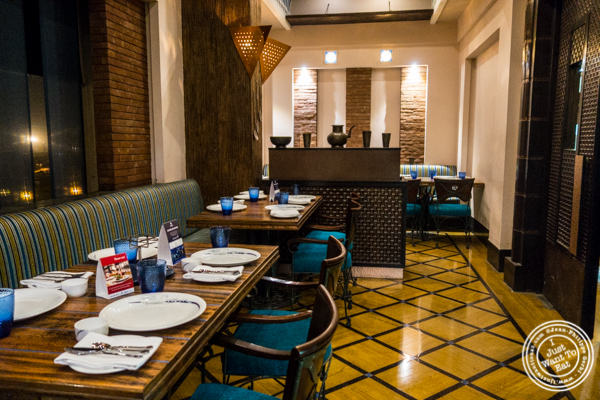 Dining room at The Great Kabab Factory in the Radisson Blu, Noida