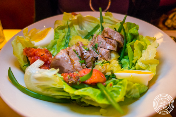 Salade Nicoise at Cherche Midi in Soho