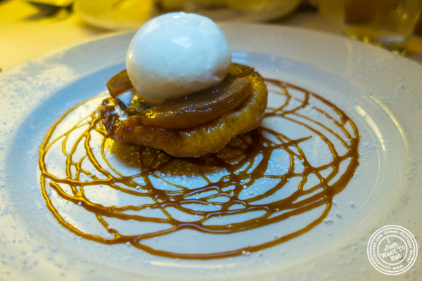 Tarte tatin at Cherche Midi in Soho
