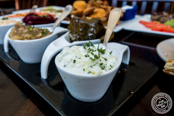 Tzatziki at Greek Town in Hoboken, NJ