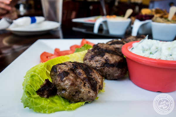 Meatballs at Greek Town in Hoboken, NJ