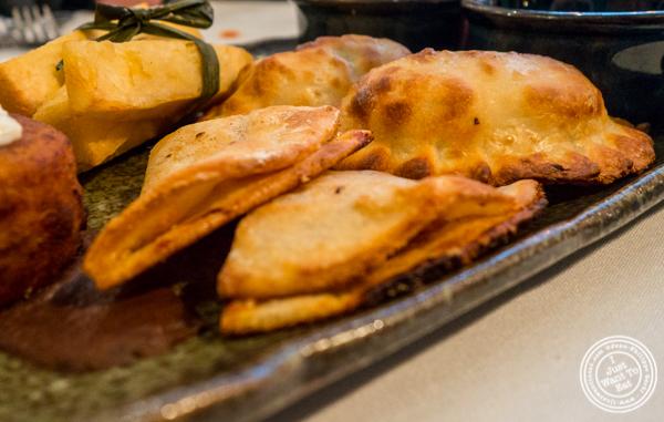 Cuban quesadilla at Victor's Cafe in NYC, NY