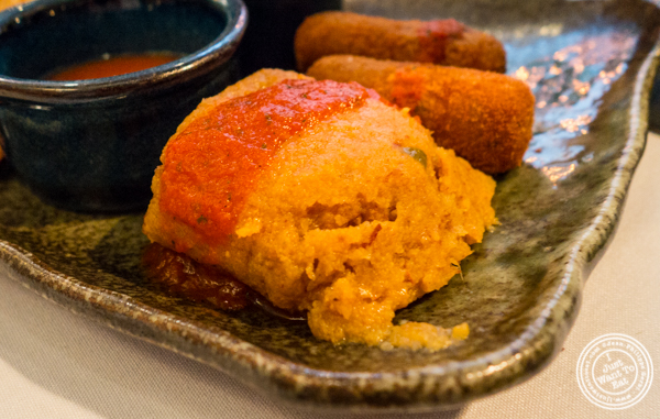Cuban tamale at Victor's Cafe in NYC, NY