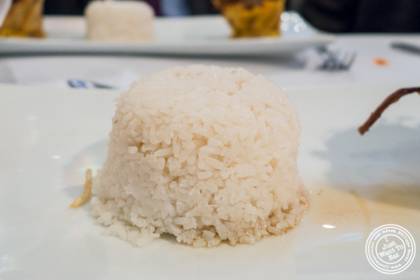 Rice at Victor's Cafe in NYC, NY