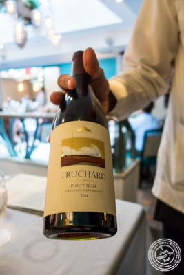 Truchard Pinot Noir 2014 at Victor's Cafe in NYC, NY