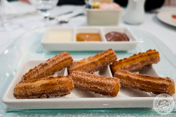Churros at Victor's Cafe in NYC, NY