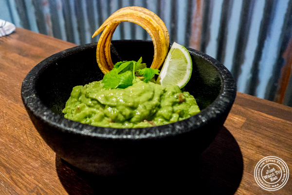 Guacamole at Habanero Blues in NYC,NY