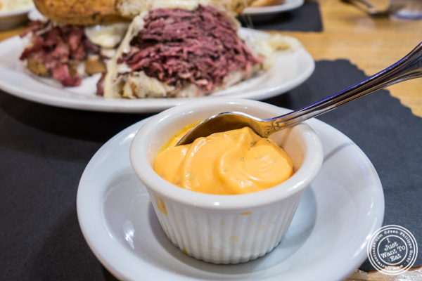 Russian dressing at Sarge's deli in NYC