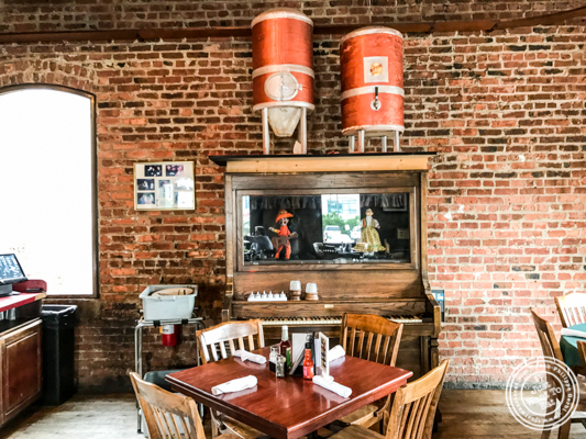 Dining room at JJ Bitting Brewery Co in Woodbridge, NJ