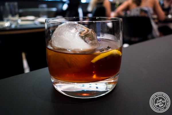 Aragon Special Cocktail at Ortzi at the Luma Hotel in NYC