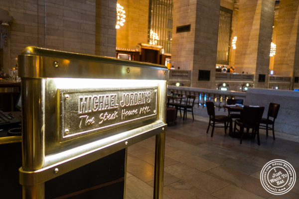 Michael Jordan's Steakhouse in Grand Central Terminal