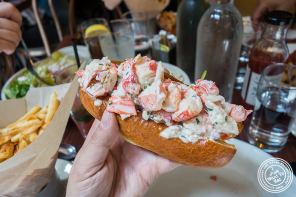 Lobster roll at The Smith, Midtown East
