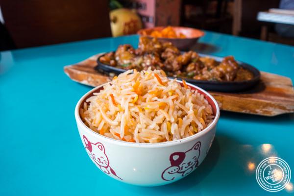 Biryani rice at The Chinese Club in Williamsburg, Brooklyn