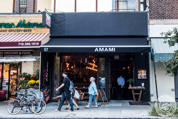 Amami in Greenpoint, Brooklyn