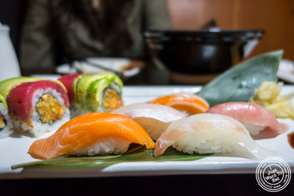 Sushi at Amami in Greenpoint, Brooklyn