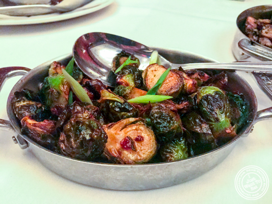 Brussels Sprouts at The Capital Grille in NYC, NY