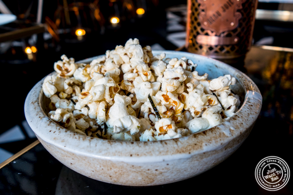 Nori popcorn at Ms. Yoo in Lower East Side