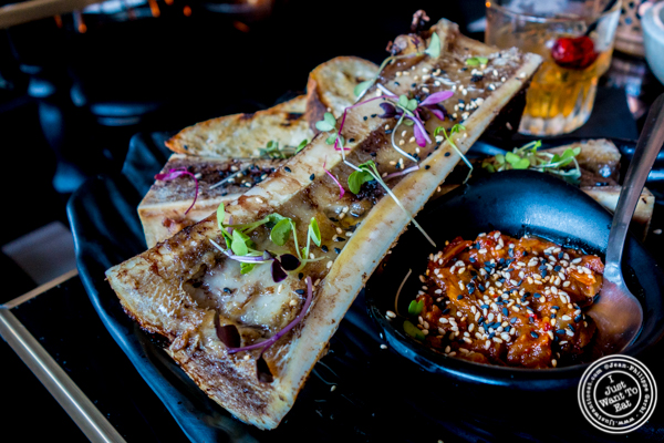 Bone marrow at Ms. Yoo in Lower East Side