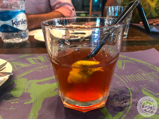 Old fashioned at Soi 7 Pub & Brewery at The Cyber Hub in Gurgaon, India