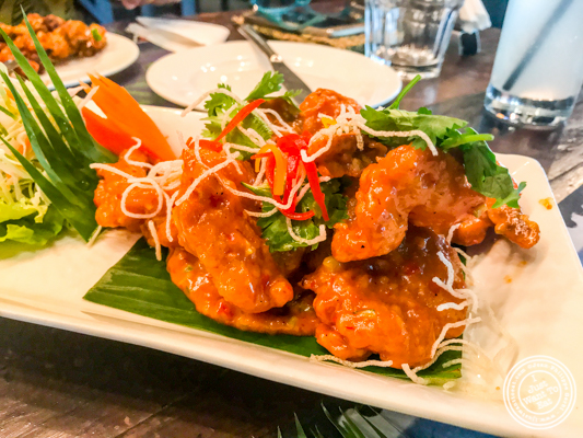 Singaporean chili prawns at Soi 7 Pub & Brewery at The Cyber Hub in Gurgaon, India