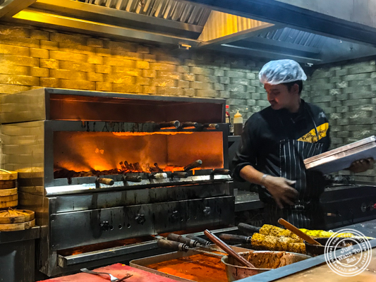 Kitchen at Pirates of Grill at The Mall of India, Noida