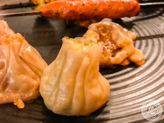 Vegetarian momo at Pirates of Grill at The Mall of India, Noida