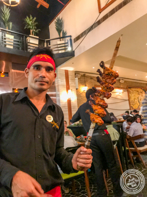 Tandoori chicken at Pirates of Grill at The Mall of India, Noida