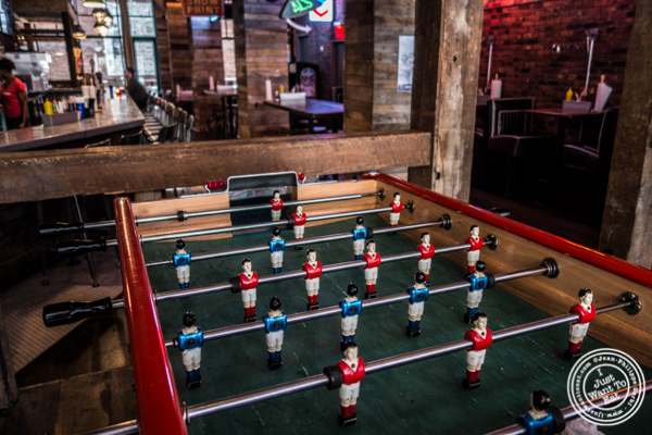 Fussball at Printers Alley in NYC, NY