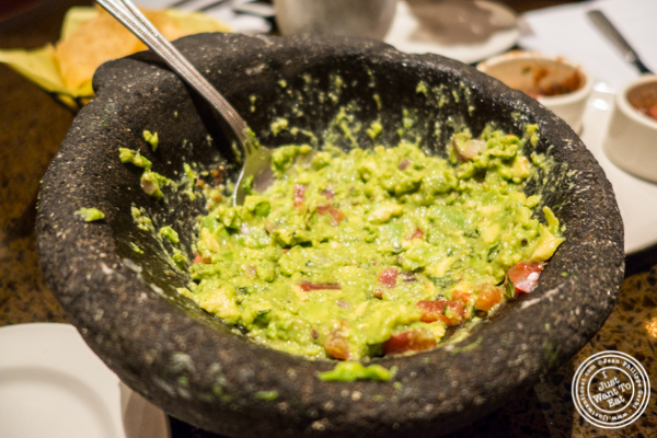 Guacamole at Sinigual in Murray Hill, NYC, NY