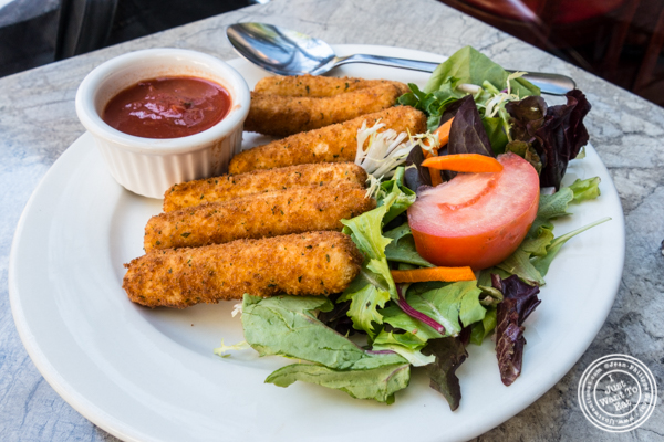 Mozzarella sticks at Don Giovanni in Hell's Kitchen