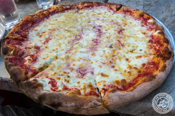 Quattro formaggi pizza at Don Giovanni in Hell's Kitchen