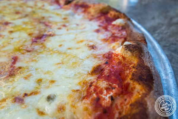 Quattro formaggi pizza at Don Giovanni in Hell's Kitchen