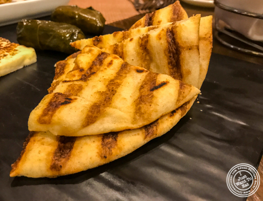 Pita at Bistro 72 in Riverhead, Long Island