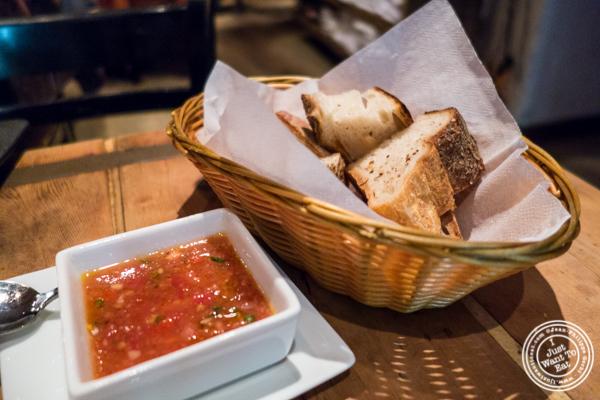Bread at Bocca di Bacco in Hell's Kitchen