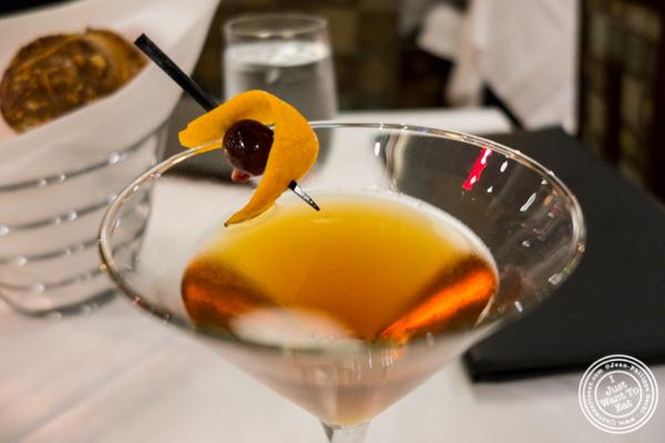 Chris Sweet's Bococa at Davio's Italian Steakhouse in NYC, NY
